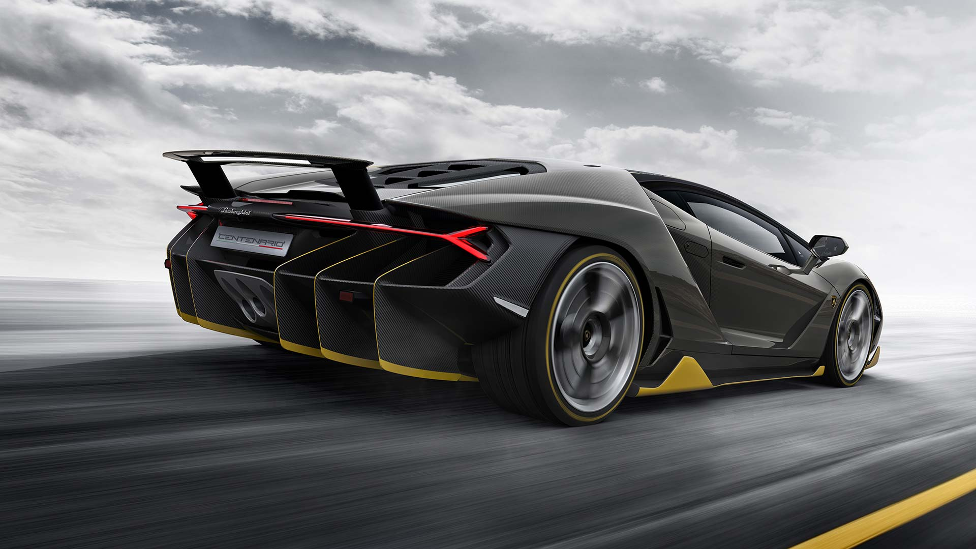 Lamborghini Centenario Car Poster Print T186 A4 A3 A2 A1 A0|