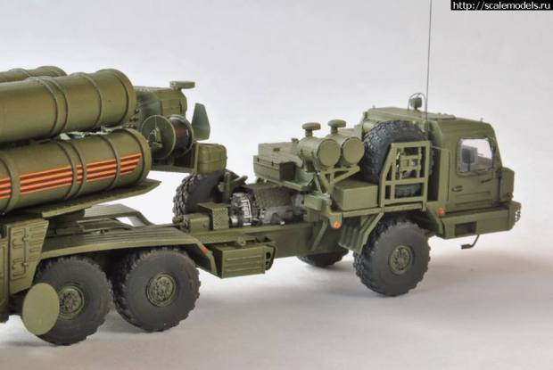Our S-400 1/72 by Gromoboy user Scalemodels ru forum Working