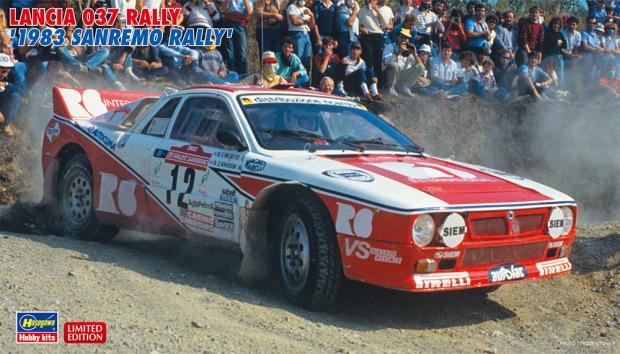 20299 LANCIA 037 RALLY 1983 SANREMO