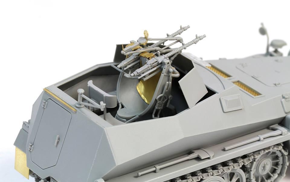 Aber 1//35 German Sd.Kfz.250//1 NEU Detailing Set # 35073