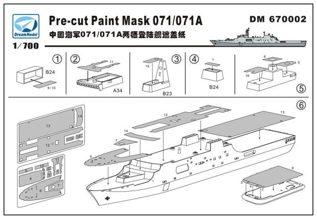 Chinese Navy LPD type 071/071A – toyland hobby modeling magazine on