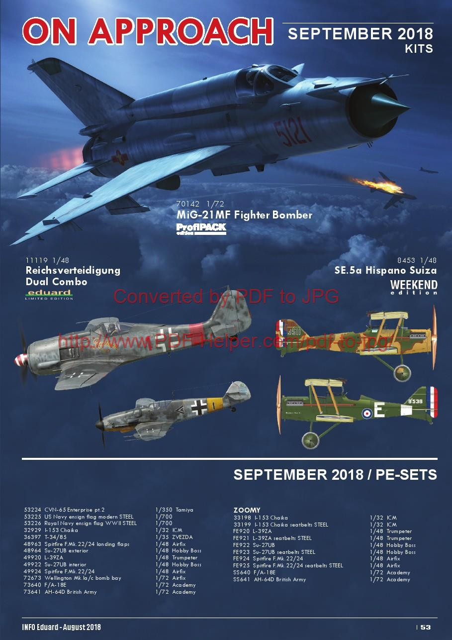 Neu Eduard Accessories 33201-1:32 F-5E seatbelts STEEL for Kitty Hawk