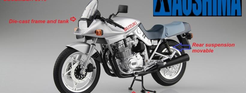 1/12 SUZUKI GSX 1100 S KATANA SL (silver)- FINISHED PRODUCT