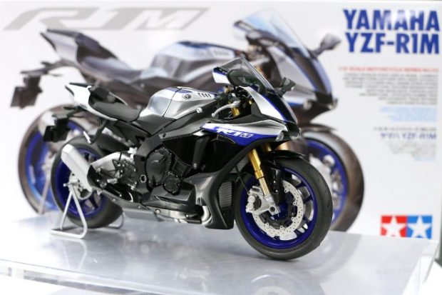 Release commemoration event of Tamiya 14133 1/12 Yamaha YZF-R1M