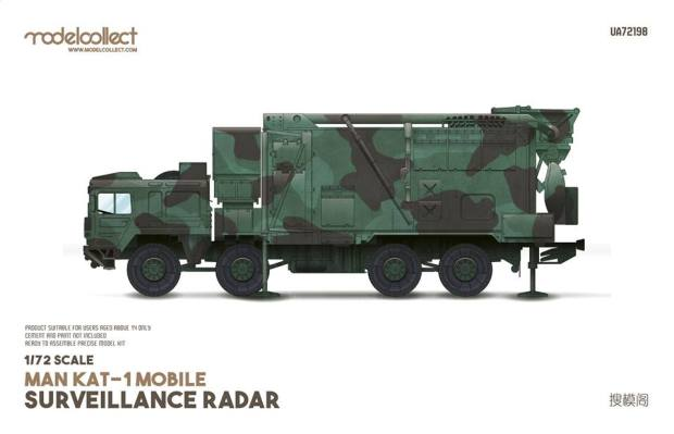 utterly stylish detailed pictures sale uk modelcollect 1/72 UA72198 MAN KAT-1 MOBILE SURVEILLANCE RADAR ...