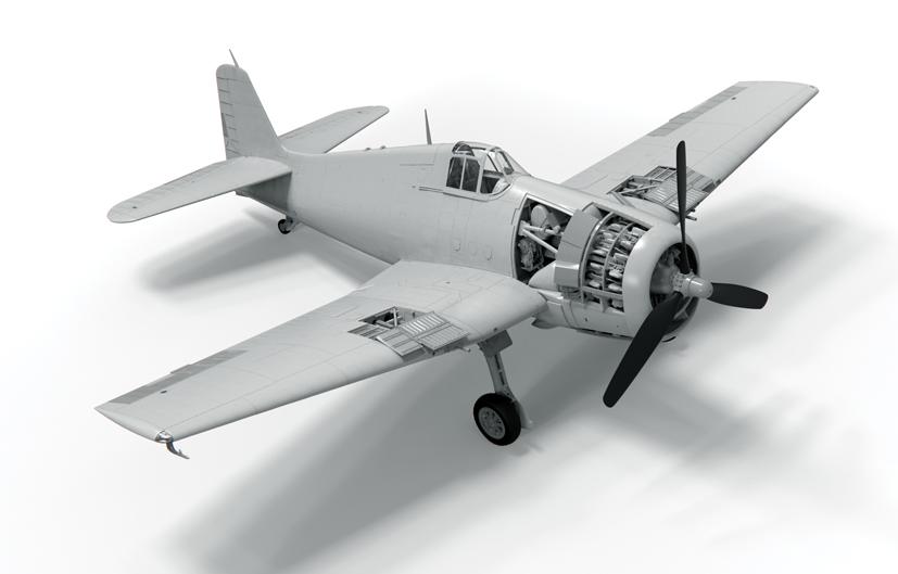 Master 1//48 Grumman F6F-5 Hellcat-Late Armament # 48108