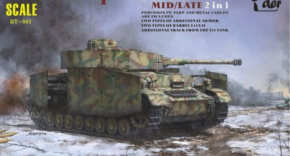 BORDER MODEL] 1/35 Pzkpfw  IV Ausf G Double Eleven scheduled gift