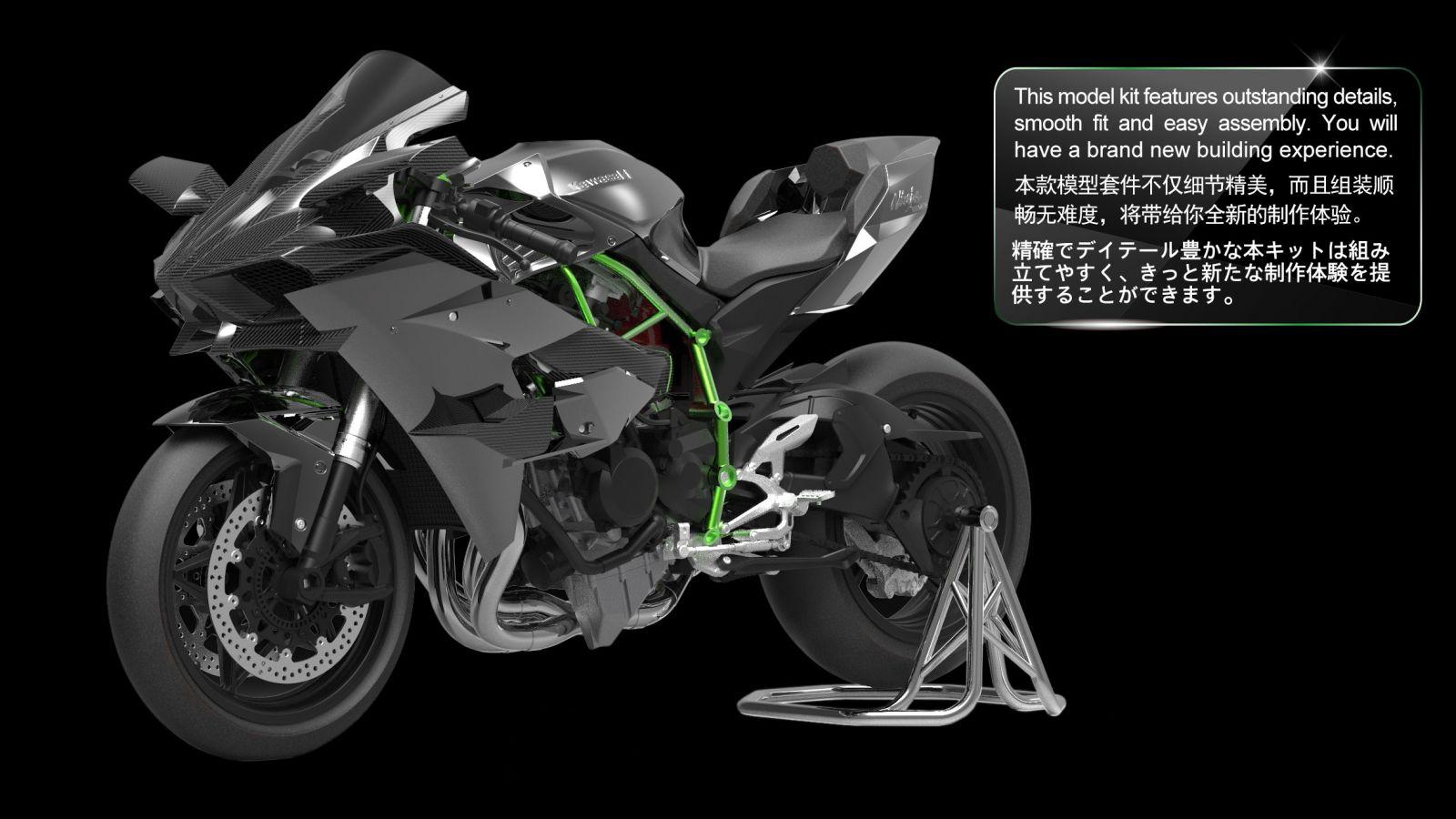 BTR Full Length Race Front Brake Line Kit 2013-2015 Yamaha MT-09
