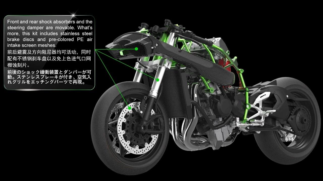 0125 CC Kawasaki KH 125 K5 1989 Ignition Switch