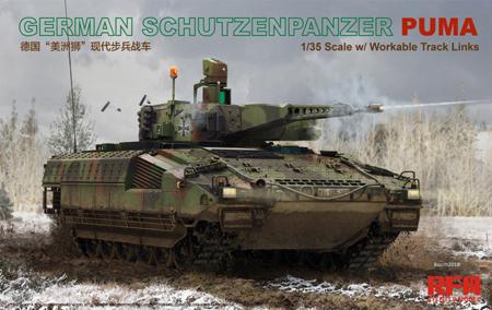NEW FROM Rye Field Model RF 5021 GERMAN SCHUTZENPANZER PUMA