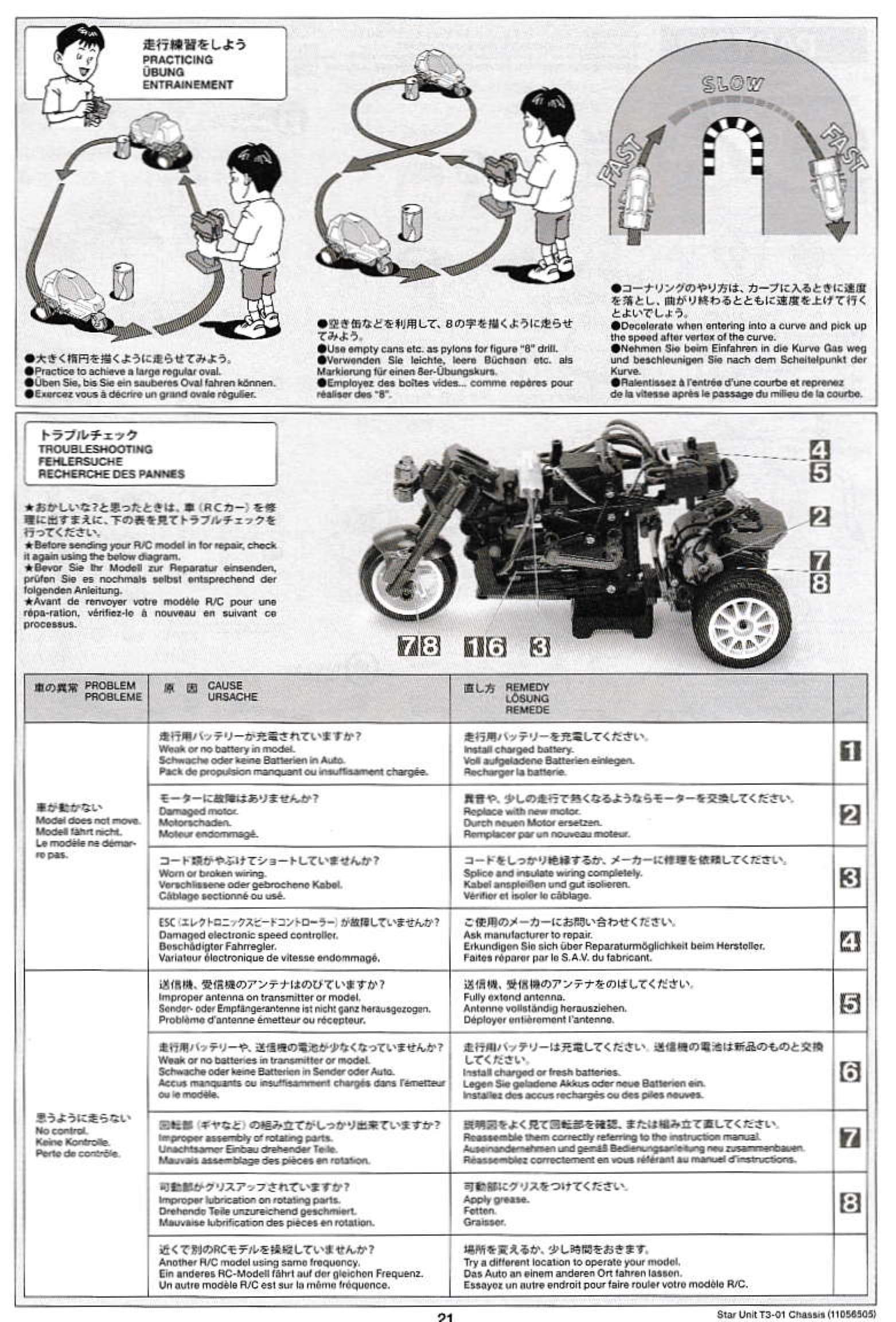 Some new Tamiya RC Assembly Manuals – hobby modeling magazine