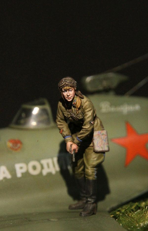VVS Lerchik 1//32 Soviet Female Pilot 1941-1943