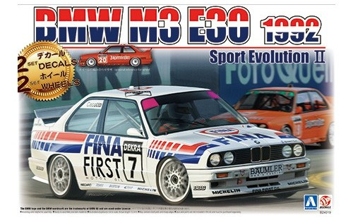 1/24 BMW M3 E30 Sports Evolution '92 Germany Specification- Release