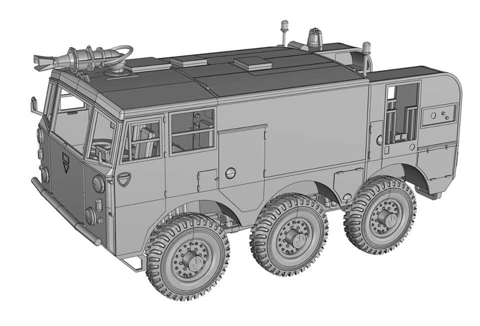 Ace Models 1//72 British SALAMANDER FV-651 Mk.6 CRASH TENDER