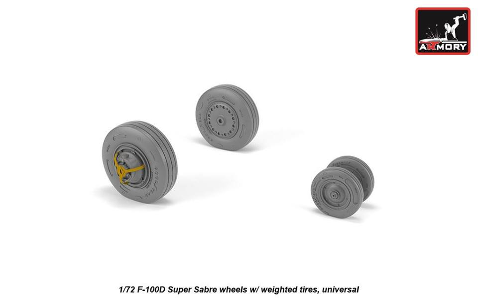 Resin wheels 1//144 Armory 14401 BAC TSR.2 wheels w//weighted tires