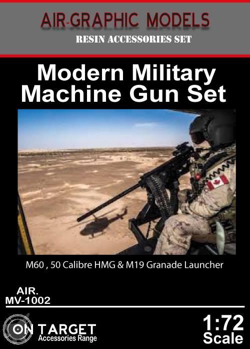 12.7 mm CALIBRE .50 Nouveau 1:72 Master GM 72002 BROWNING M2 Heavy Barrel