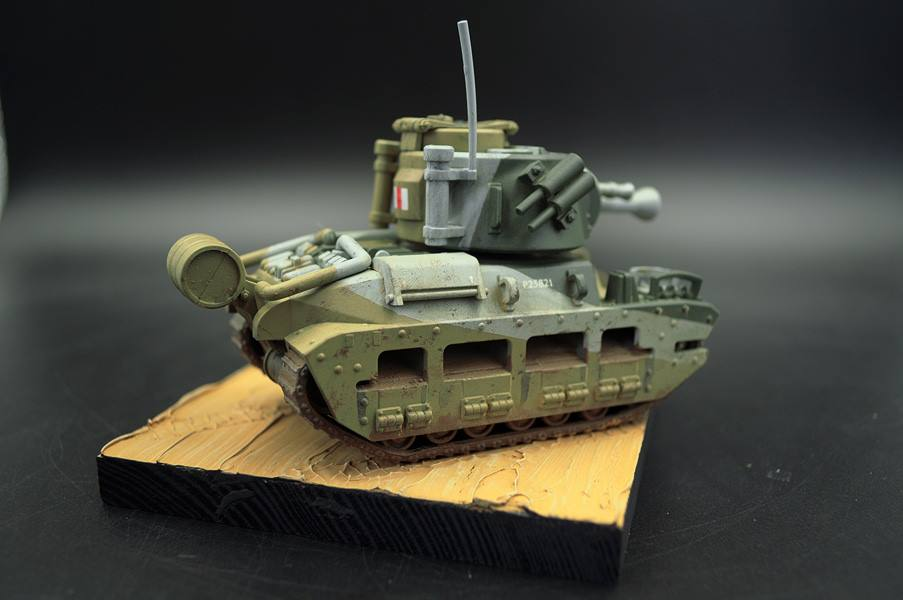Meng WWP-007 Pre-Colored Panther Tank World War Toons Model Kit