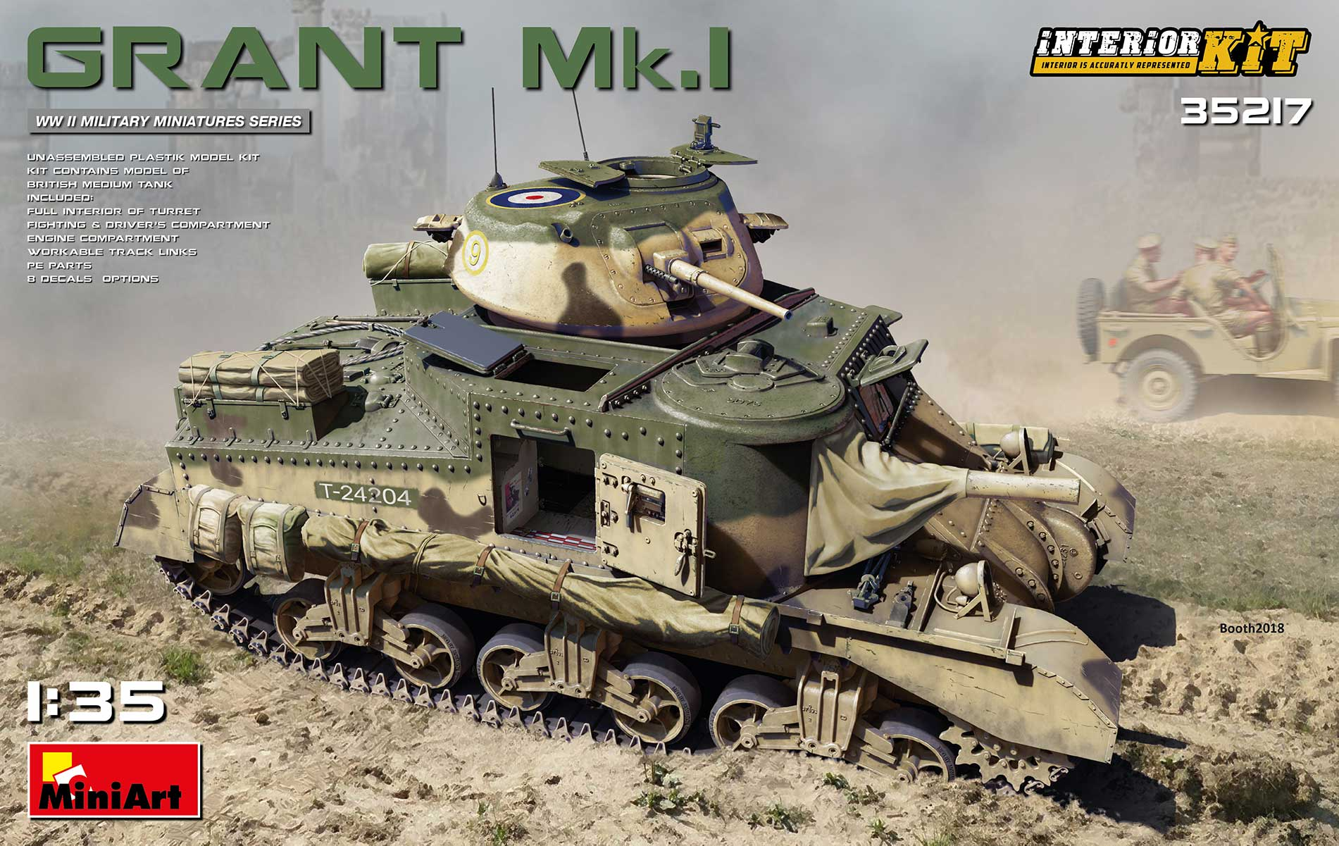 closer at hot products famous brand NEW KIT IN PROGRESS-GRANT Mk.I INTERIOR KIT 35217 1/35 FULL KIT ...