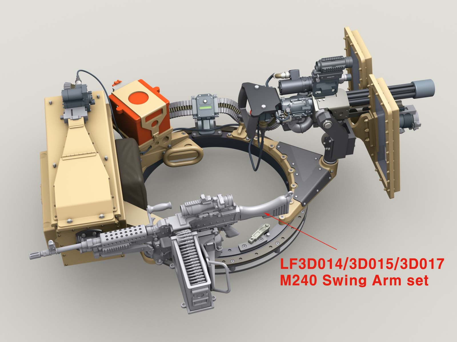 6pcs SWAT MILITARY Navy Seals Team WW2 Corner Shot Weapon Soldiers Fit Lego
