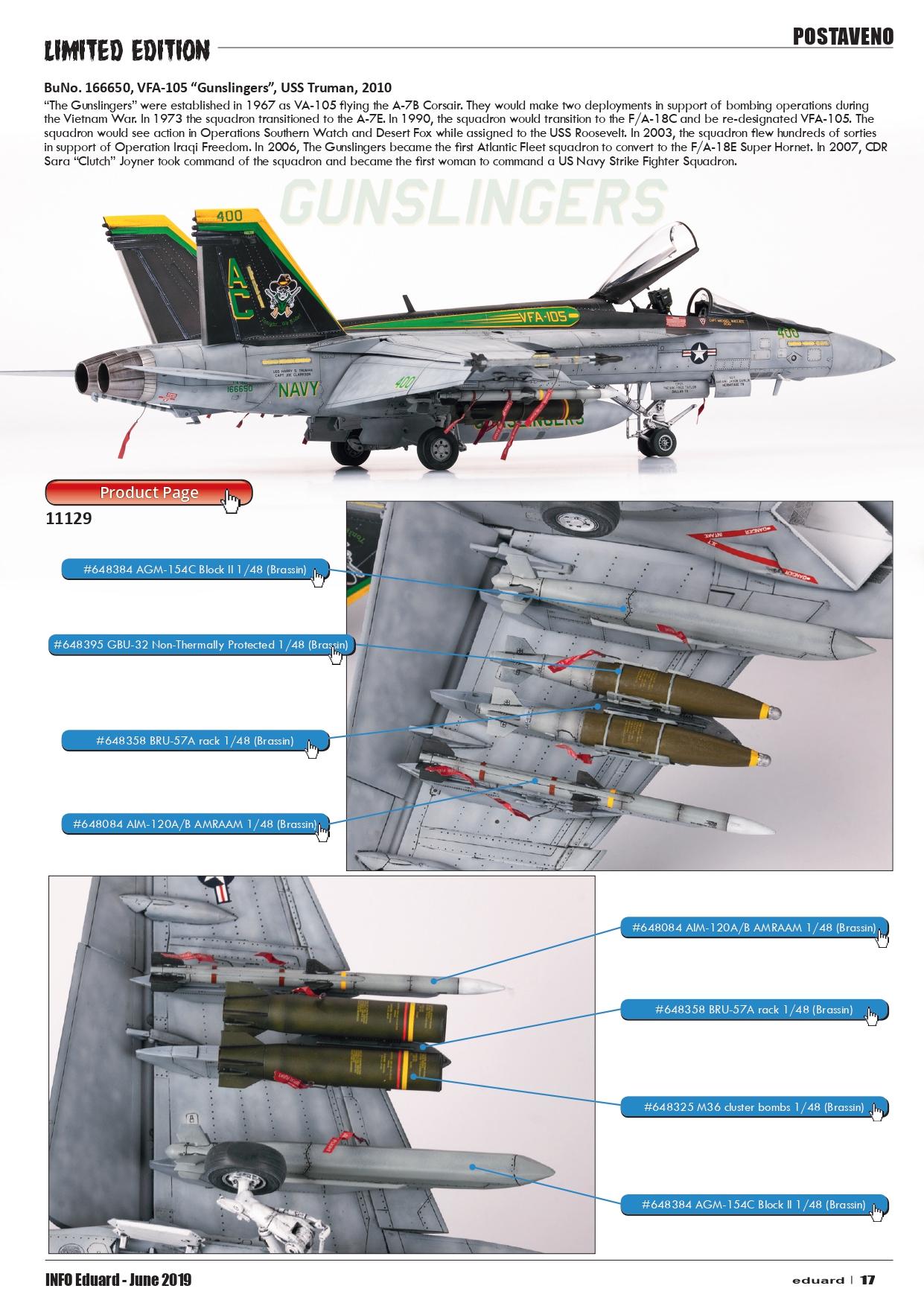 8pcs Eduard Brassin 648395 1//48 GBU-32 Non-Thermally Protected Bombs