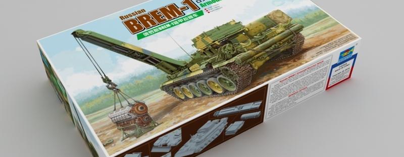 üppiges Design spätester Verkauf spätester Verkauf NEW FROM TRUMPETER 1/35 Russian BREM-1 armored repair ...