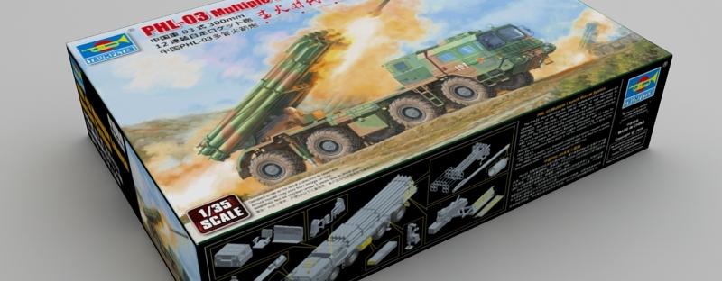 strukturelle Behinderungen USA billig verkaufen größte Auswahl von 2019 NEW FROM TRUMPETER 1/35 China PHL-03 multi-barrel rocket ...