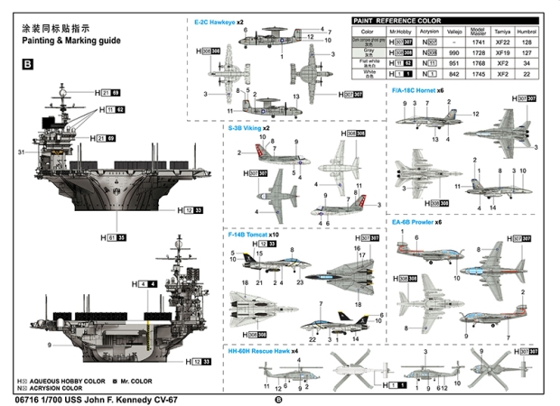 NEW FROM trumpeter 1/700 US Navy