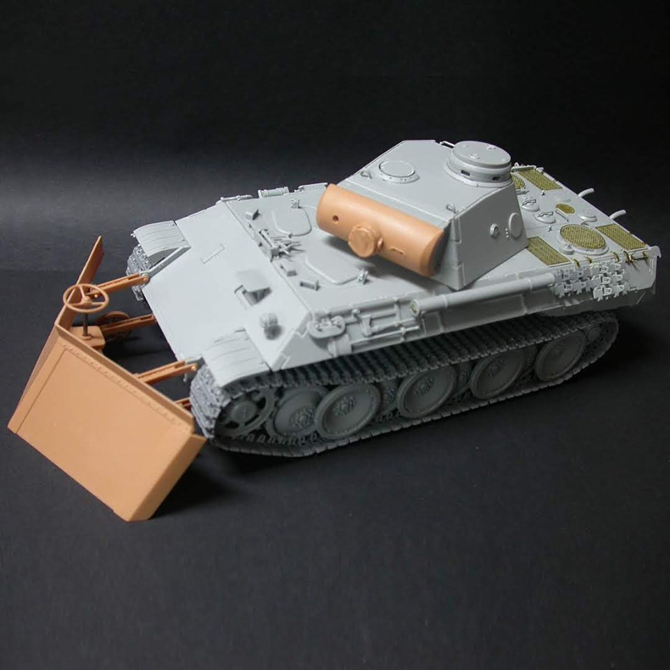 pour Tiger Panther etc WW II German Tank Crew-Normandie 1//35 MINIART France 44