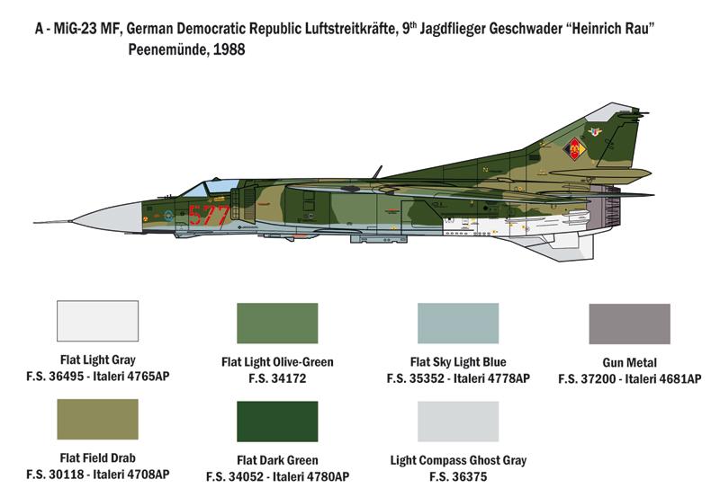 1//48 Nesher Mirage 5 Landing Gear 48238 x for Italeri