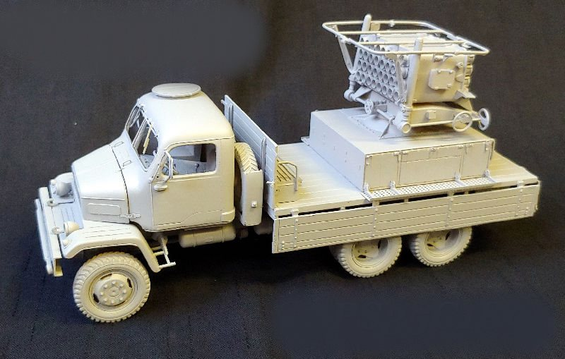 L/'Arsenal Models 1//400 GMC TRUCK SET Resin Set 10