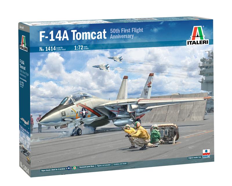 Sac 1//72 Grumman F-14A//F-14B Tomcat Train # 72045